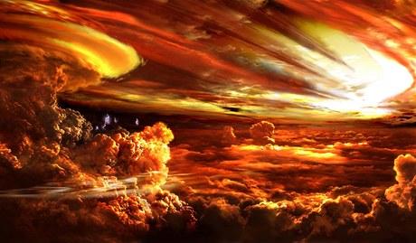 Bou�liv� atmosf�ra Epsilon Andromeda b podle Rona Millera