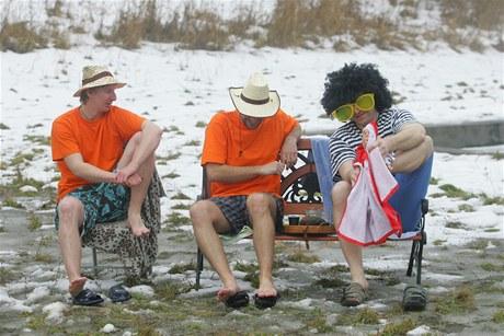 Cimrmanova pláž v Mlékosrbech