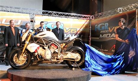 Karel Abraham odhalil motocykl FGR Midalu
