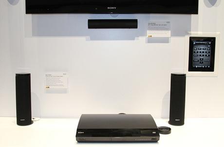 CES 2011 - Sony domácí 3D Blu-ray kino ovládatelné iPadem
