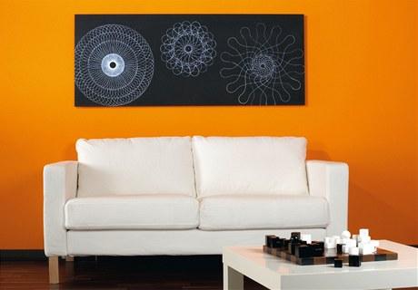 Působivý ornamentální obraz si můžete vytvořit pomocí tzv. spirografického křídla