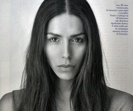 Transsexuální modelka Lea T pro Vanity Fair Italy