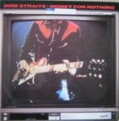 obálka singlu Money For Nothing skupiny Dire Straits