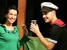 Nejslavnější jedlík špenátu, Pepek námořník, je hrdinou nové inscenace Loutkového divadla Radost v Brně.