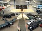 Národní technické muzeum - expozice Dějiny dopravy