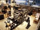 Národní technické muzeum - expozice Tiskařství