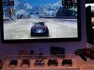 CES 2011: Hrát se dalo i na stánku Panasonicu. Jejich televize Viera nabídnou integrované hry známých značek. Dohodu má Panasonic například s Ubisoftem.
