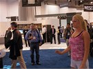 CES 2011: Tady hra nen� vid�t, ale sle�na cvi�ila ve fitness h�e pro kamerku od PrimeSense, kter� z pochopiteln�ch d�vod� p�ipom�n� Kinect.