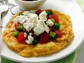 Omeleta na řecký způsob.