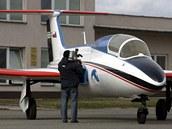 Zrekonstruovaný letoun L29 Delfín