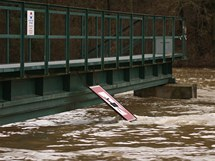 Hracholuská přehrada (15.1. 2011)