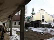 Větrný zámeček na Křemešníku prochází rekonstrukcí. (9.1.2011)