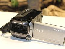 CES 2011 - 3D kamera Sony - 2x Full HD