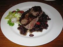 Corrientes - čtvrtkilový marinovaný steak z hovězí roštěné