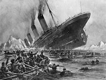 Plavba Titaniku skon�ila n�razem do ledovce