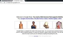 Snímek obrazovky - některé webové aplikace od samotného Google si na Chrome OS zatím nepustíte, není zde totiž (trochu paradoxně) implementován nejnovější Chrome