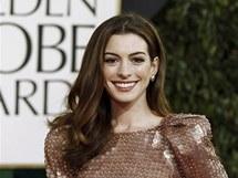 Zlaté glóby 2011 - Anne Hathaway