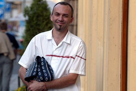 Luk� Marvan v roce 2003