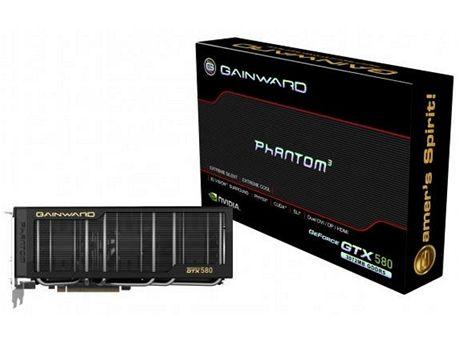 Gainward GeForce GTX 580 Phantom