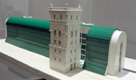 Putovní expozice představuje stěžejní projekty ateliéru SIAL. Mimo jiné i model centrální budovy vodáren v Praze.