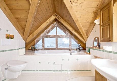 Do koupelen použili majitelé italské obklady Imola