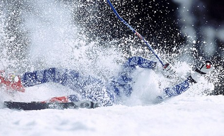 HLAVNĚ NEPADAT. Haitský sjezdař Jean-Pierre Roy si na mistrovství světa v Ga-Pa odbude premiéru. - ilustrační foto
