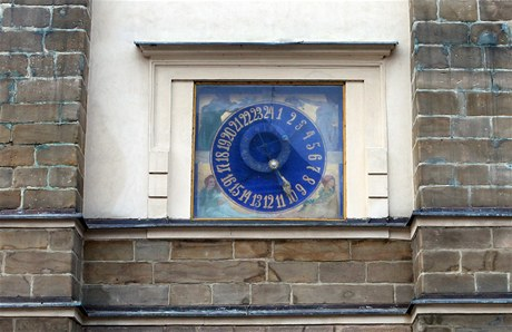 Orloj v Litomyšli