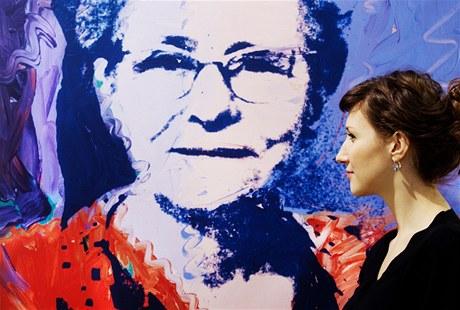 ze zahájení výstavy Andy Warhol a Československo v galerii Dvorak Sec Contemporary)