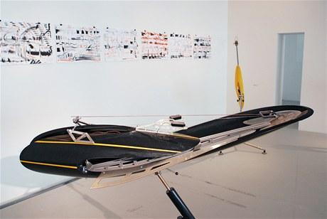 Michal Cimala: z výstavy Posun v galerii DOX