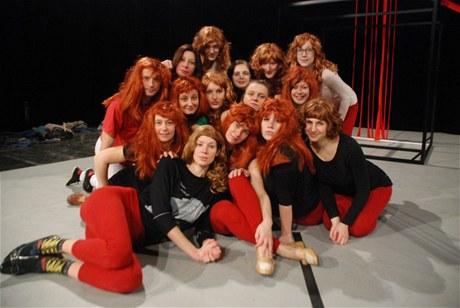 z představení Třicátá Marinina láska na Nové scéně ND