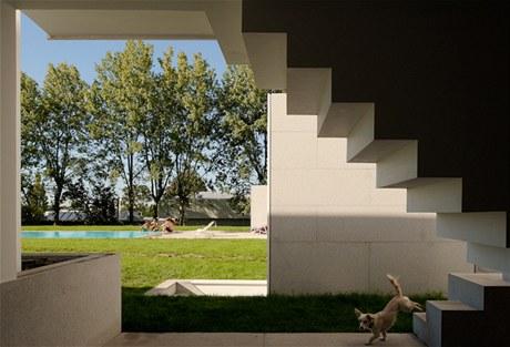 Pro stavbu tohoto domu jsem potřeboval hodně vůle a odvahy, dokonce víc, než když jsem se rozhodl pro dráhu architekta, říká Álvaro Leite Siza Vieira