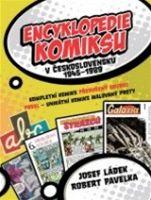 Encyklopedie komiksu (obal knihy)