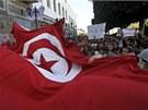 Protesty v Tunisu (24. ledna 2011)