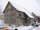 Výstavba domů v Hrádku nad Nisou z flexibuildových desek a sendvičů