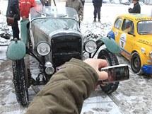 Závod veteránů The Winter Trial v Letohradu