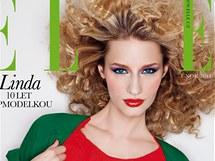 Linda Vojtová v časopisu Elle