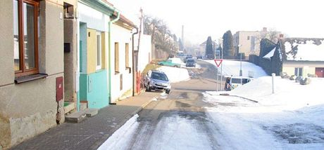 Nehoda nezabrzděného auto v Jevíčku na Svitavsku