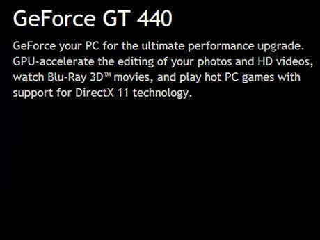GeForce GT 440