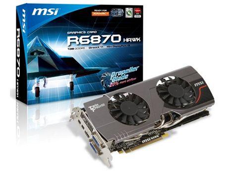 MSI R6870 Hawk