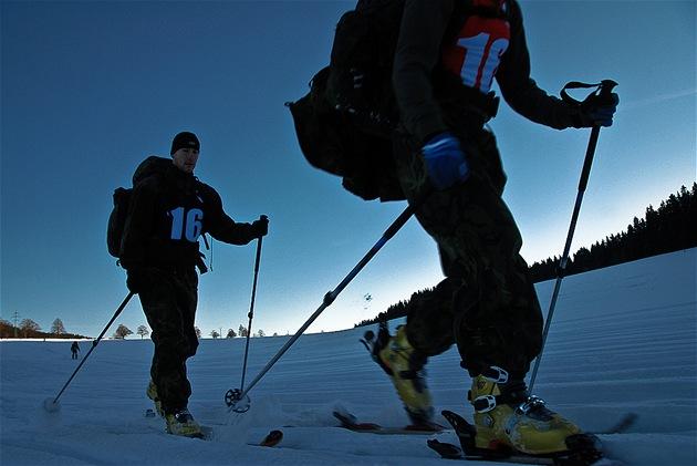 Extrémní armádní závod Winter Survival