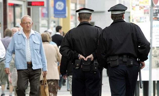 Strá�níci M�stské policie. Ilustra�ní foto