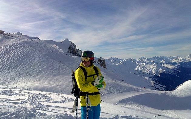 St. antonu je nejlepší lyžování v rakousku. a jedno z nej v