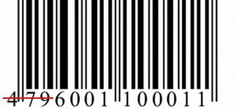 U nás nejtypičtější čárový kód EAN 13, toto zboží by pocházelo ze Šrí Lanky
