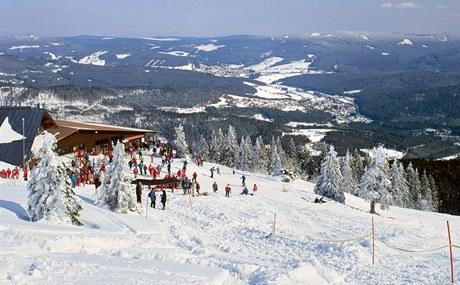 Německý lyžařský areál Velký Javor