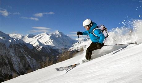 Rakouský lyžařský areál Kasberg