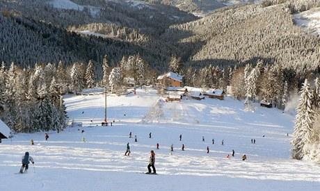 Slovenský lyžařský areál Veľká Rača