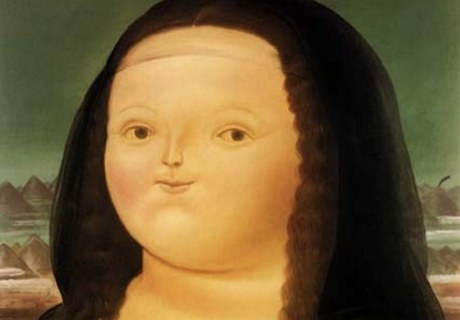 Mona Lisa v pojetí svérázného kolumbijského malíře Fernanda Botera