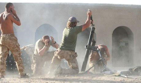 Červenec 2007: bitva v Hílmandu.