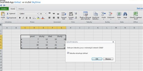 Excel - překvapivě snadná tvorba tabulek a jejich filtrování