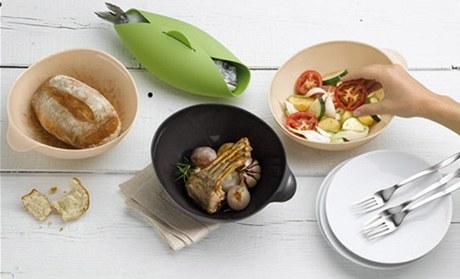 Silikonové misky se snadno myjí v myčce nádobí. Neabsorbují chuť ani vůni potravin